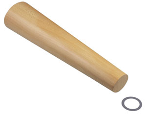 This Solid Wood Oval Bracelet Mandrel At Rio Grande Is Good For Bangles And Thinner Metals Also Wax Metal Clay