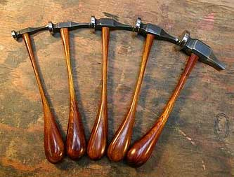 types of antique hammers. sc-studios-chasing-hammers types of antique hammers